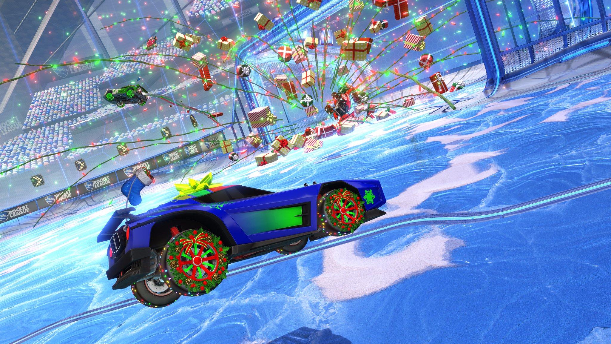 Rocket League čeká tradiční vánoční aktualizace 153790