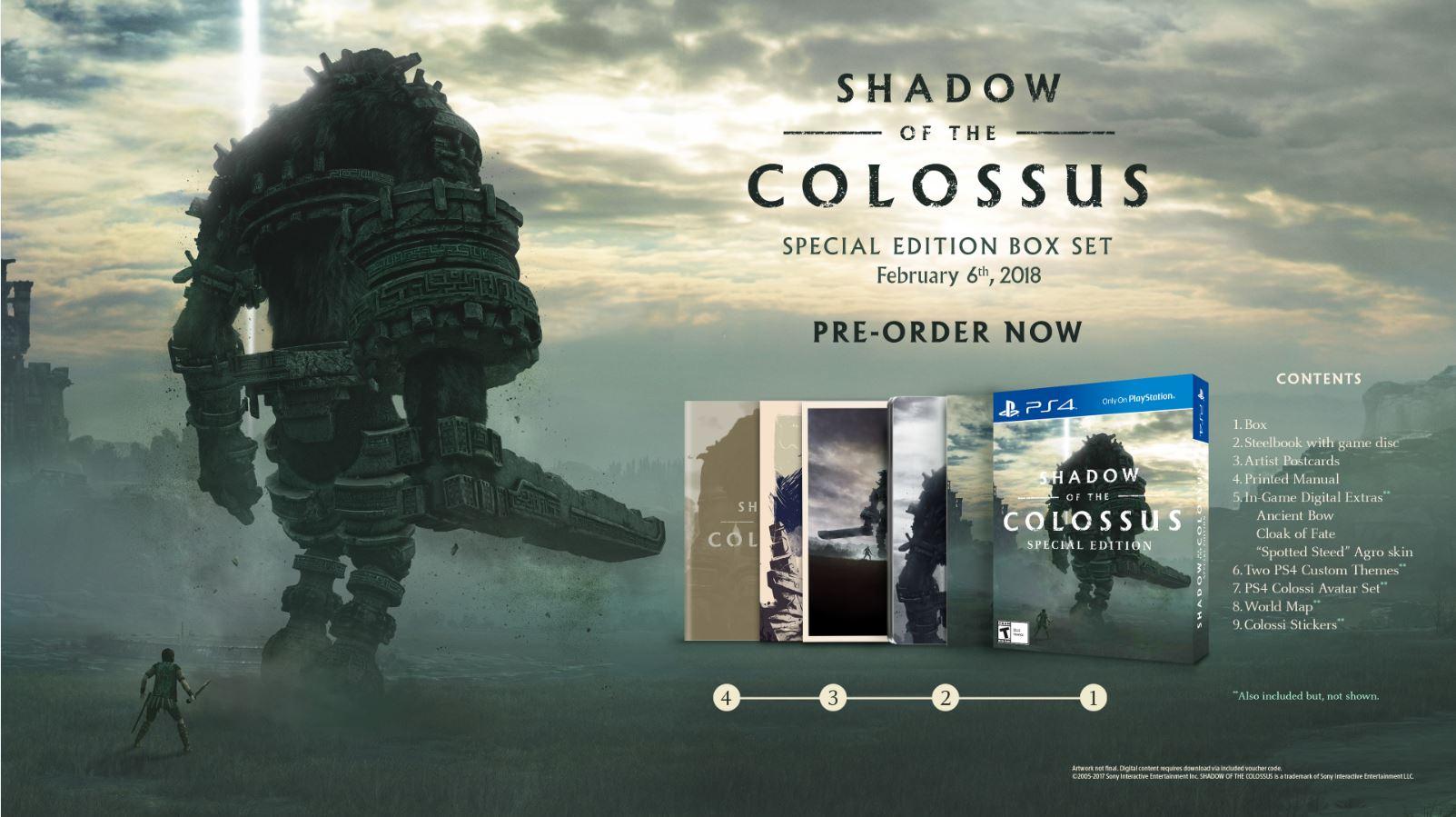 Odhalení speciální edice a přiblížení vizuálu Shadow of the Colossus 153802