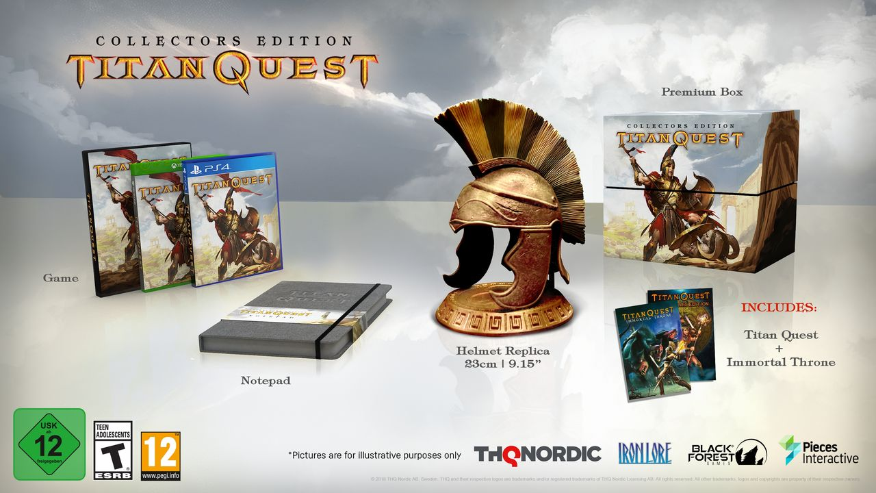 Titan Quest vyjde na PS4, Xbox One a Switch 153935