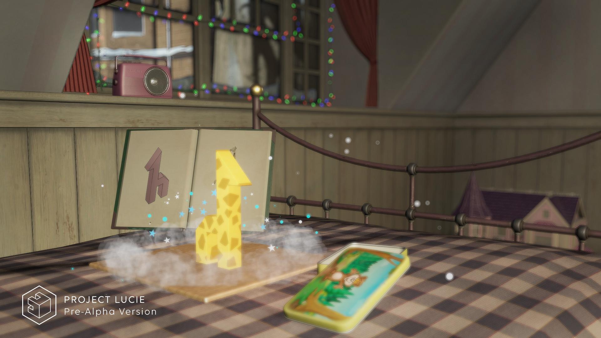 Project Lucie je experimentální VR titul od Bohemia Interactive 154051