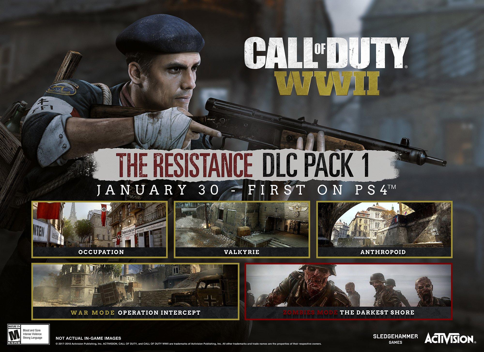 Mapa v Praze součástí prvního DLC pro Call of Duty: WWII 154133