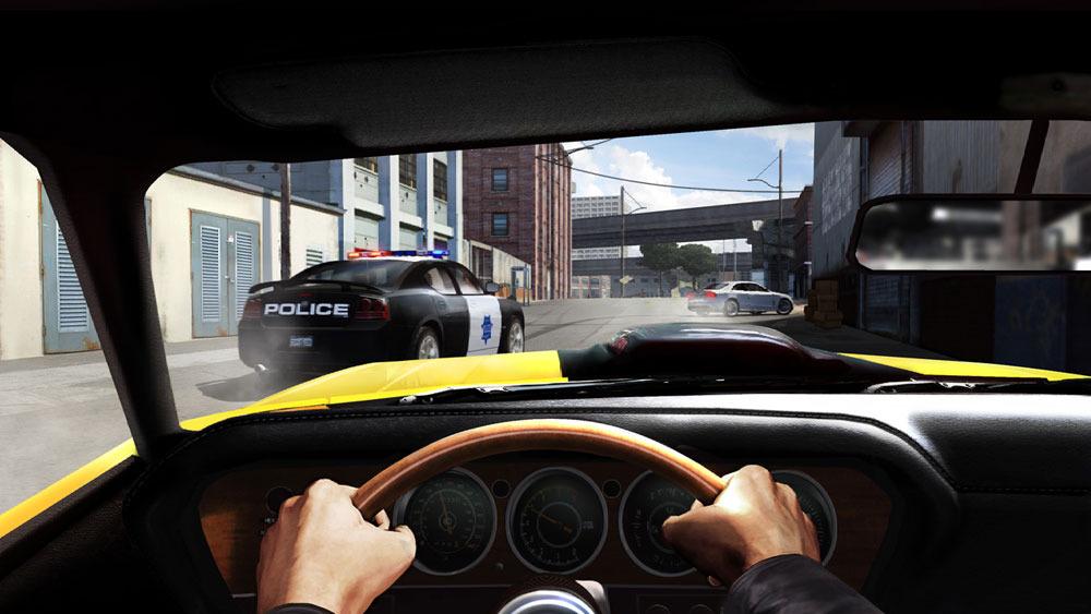 Žluté Porsche v závodech Driver: San Francisco 15421