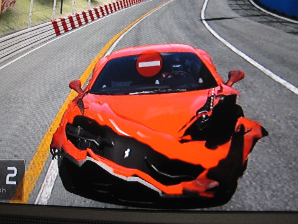 Prapodivný model poškození v Gran Turismo 5 15424
