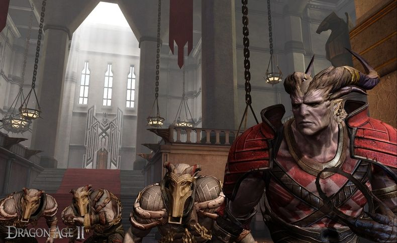 Ženská alternativa hrdiny v Dragon Age 2 15522