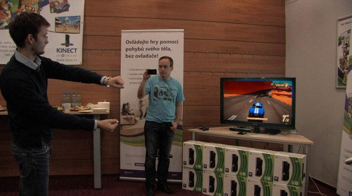 Kinect – dojmy z pražské prezentace + videoblog 15622