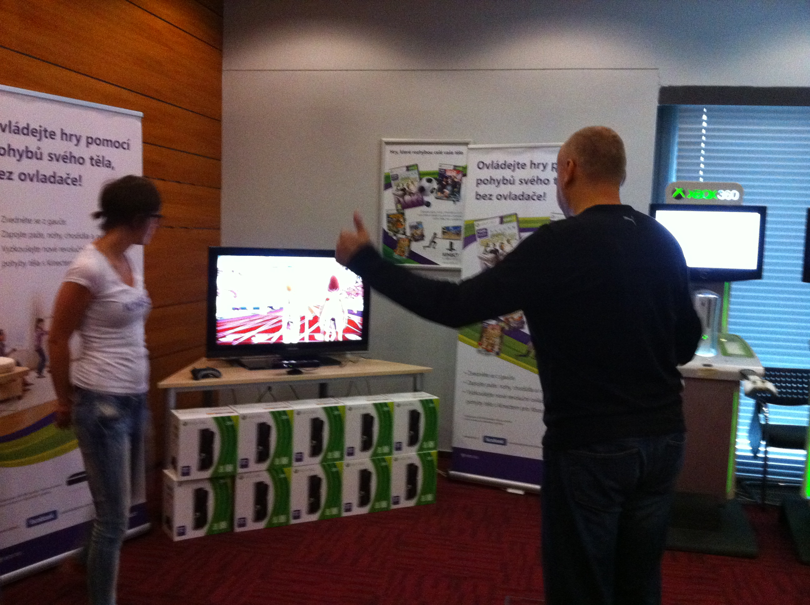 Kinect – dojmy z pražské prezentace + videoblog 15626