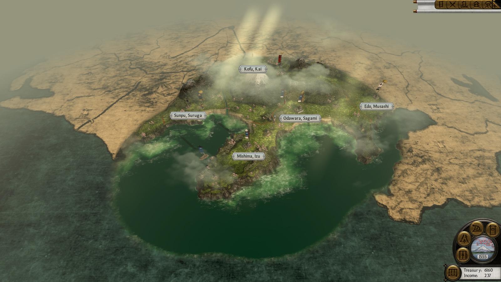 Shogun 2: Total War: nová galerie i s mapou z kampaně 15946