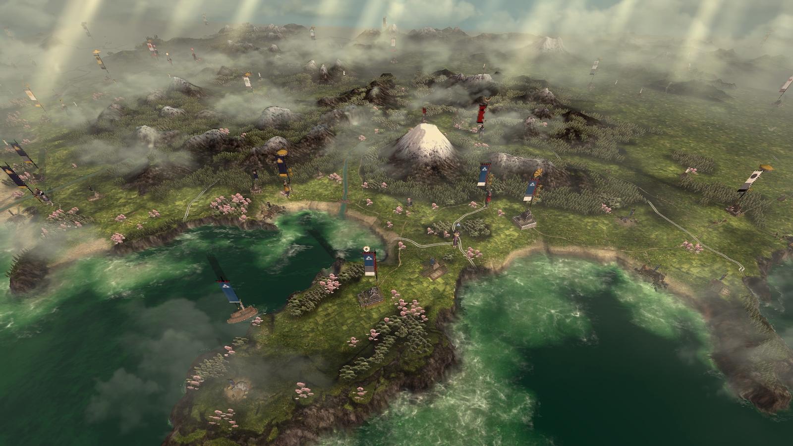 Shogun 2: Total War: nová galerie i s mapou z kampaně 15947