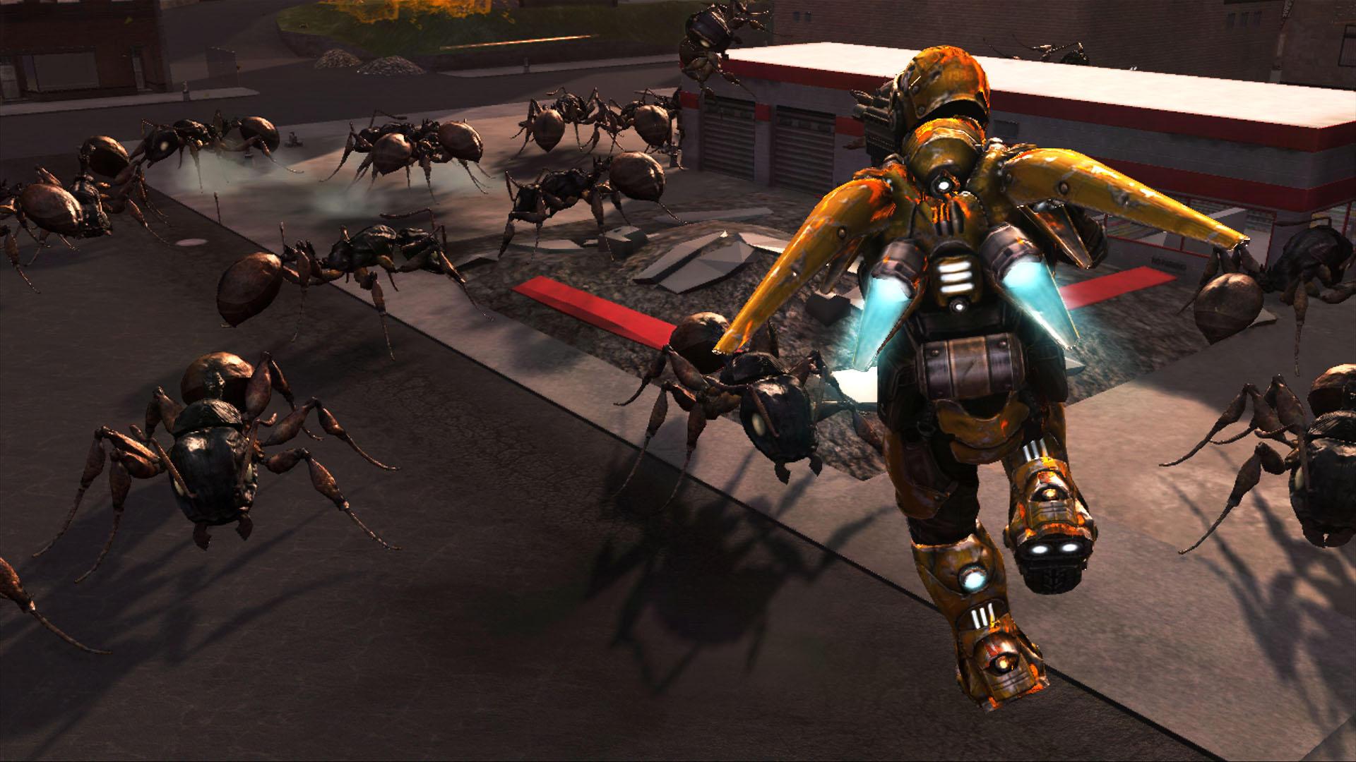 V Earth Defense Force opět započne invaze hmyzu 17588