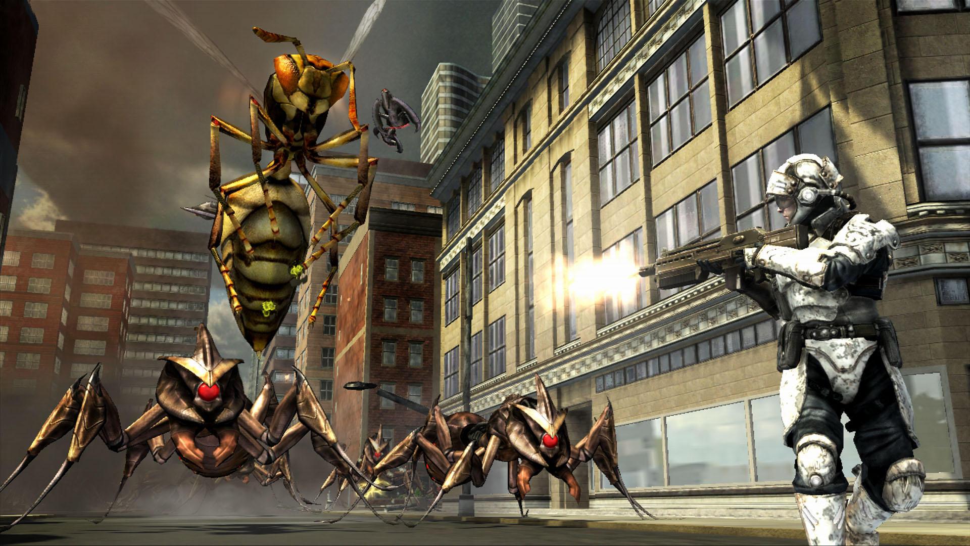 V Earth Defense Force opět započne invaze hmyzu 17589
