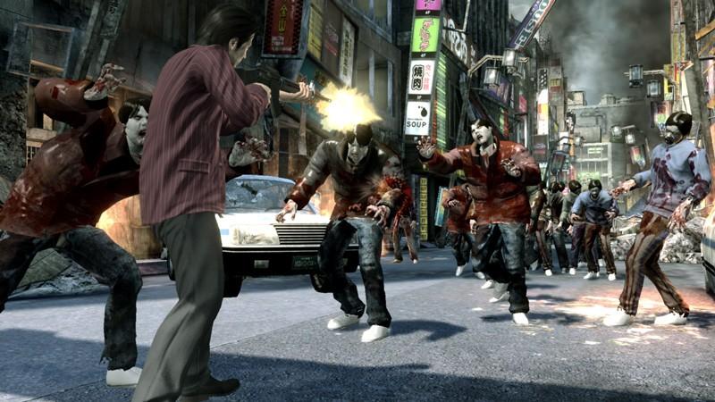 Nová Yakuza nabídne chytré zombie 17652
