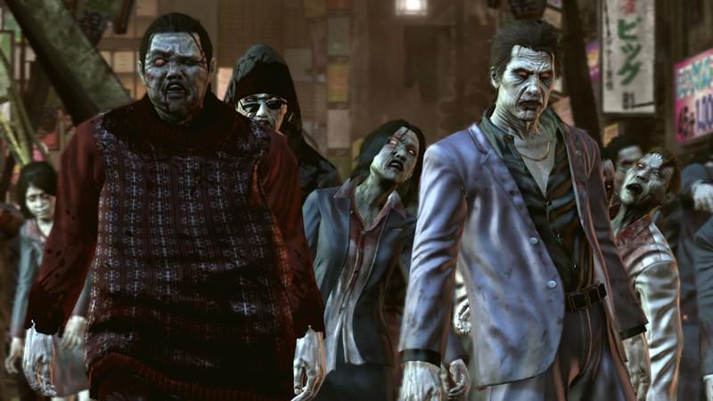 Nová Yakuza nabídne chytré zombie 17653