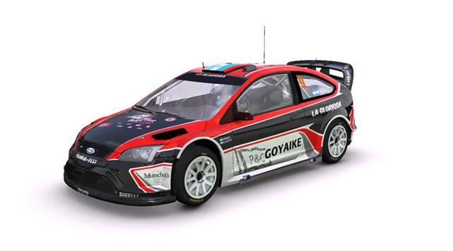 Představeny všechny vozy z rallye závodů WRC 17805