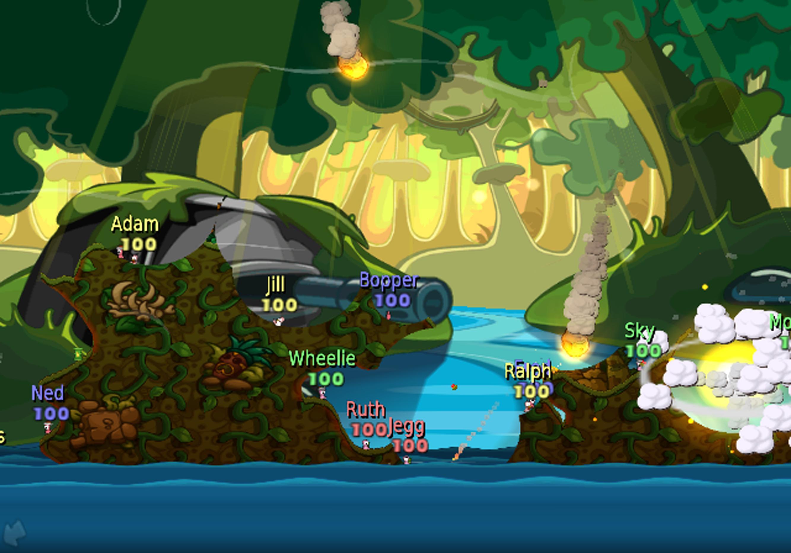 Oznámeny červí ostrovní bitvy pro Wii 17850