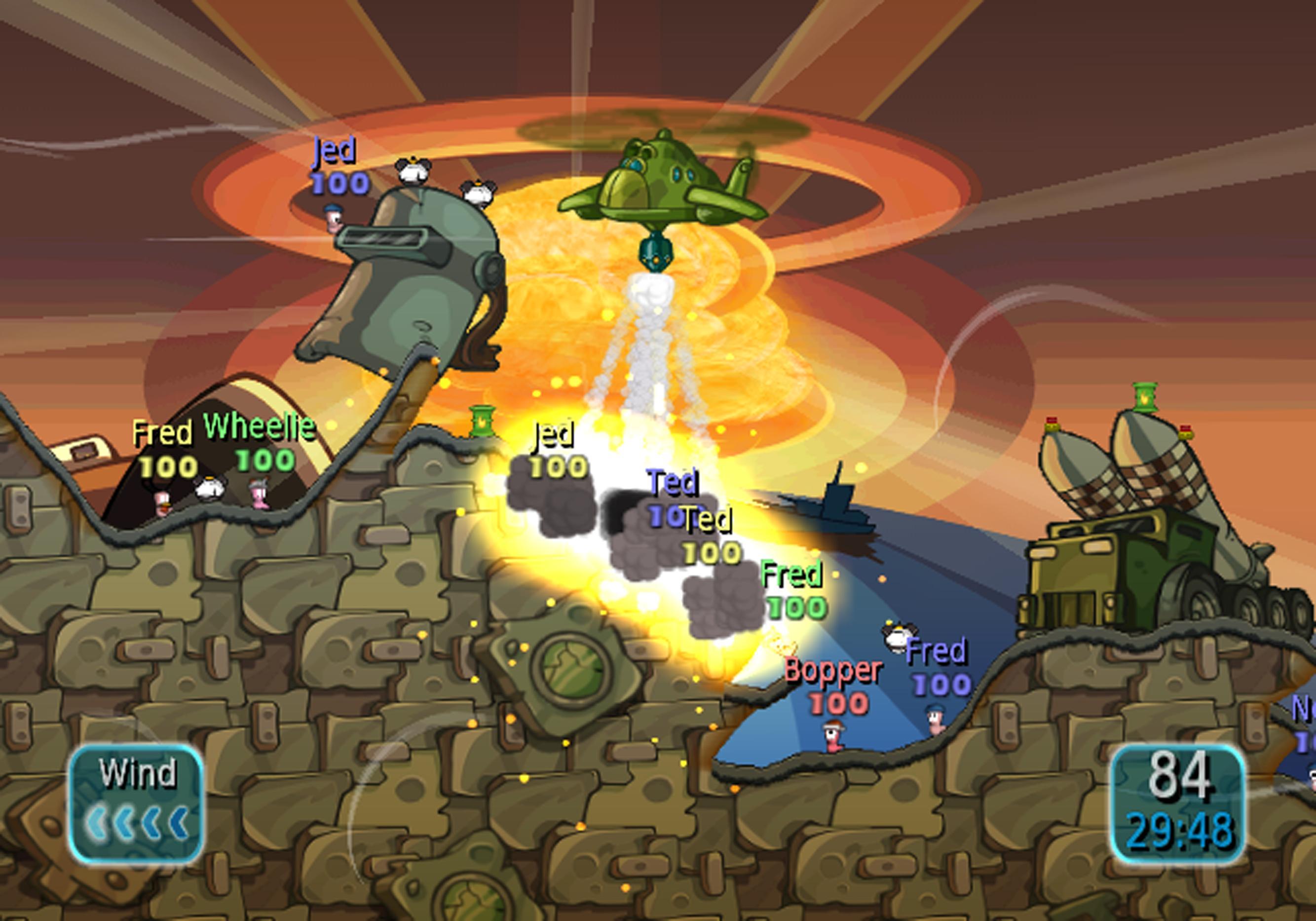 Oznámeny červí ostrovní bitvy pro Wii 17851