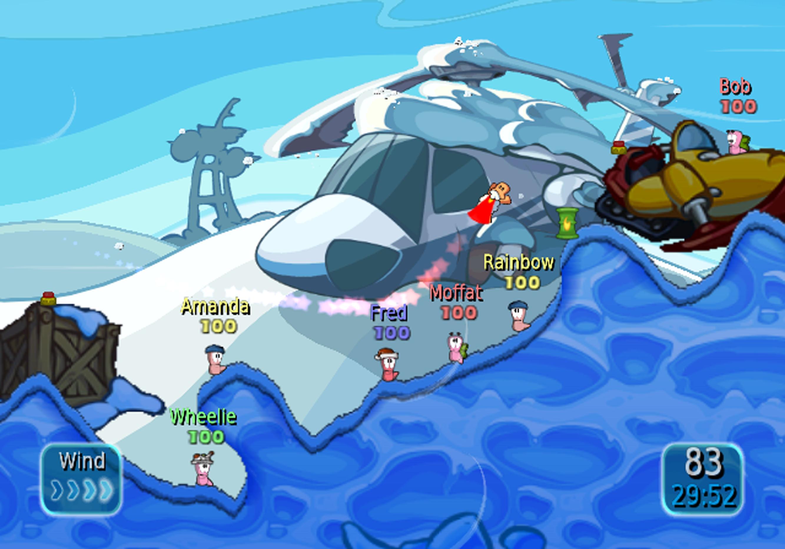 Oznámeny červí ostrovní bitvy pro Wii 17852