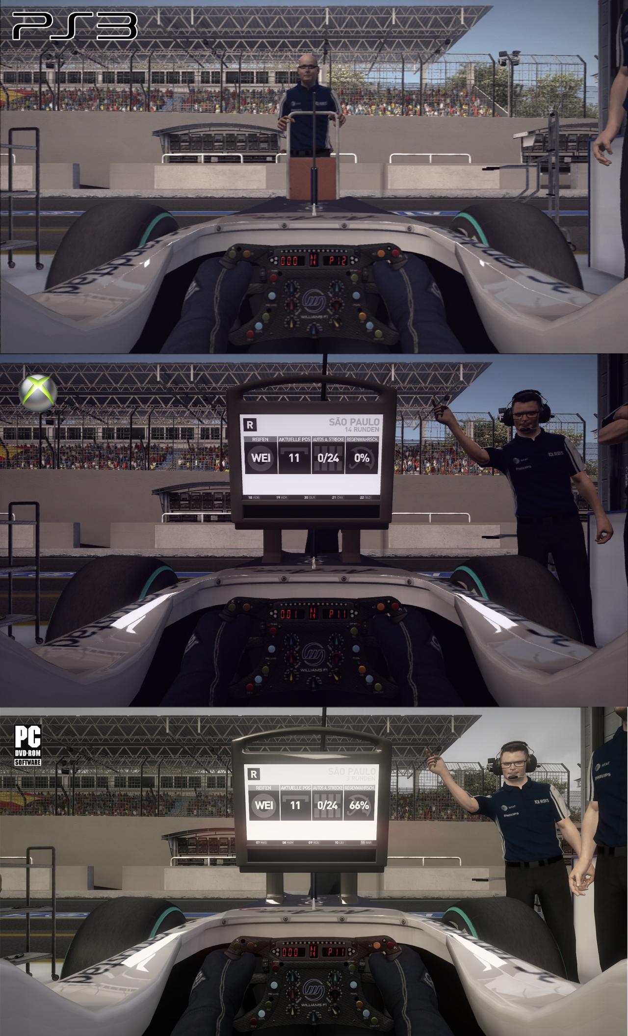 F1 2010 - grafické srovnání PC/PS3/X360 17870