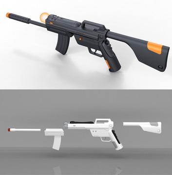 PlayStation Move puška odhalena 18206