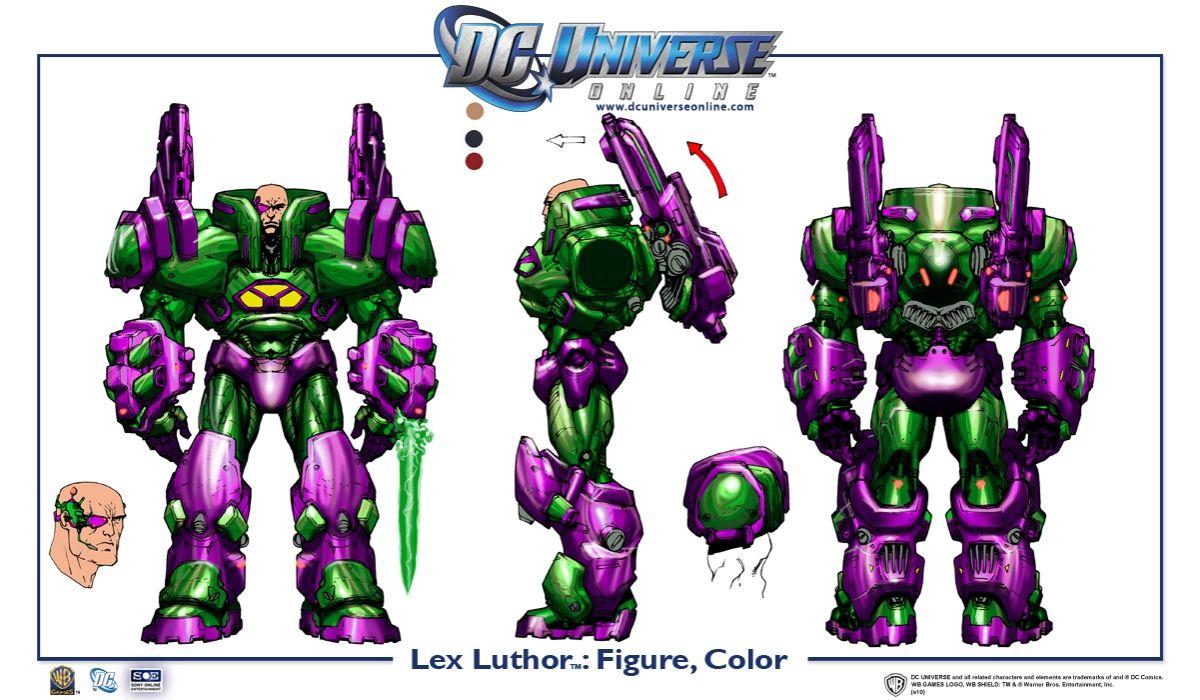 Galerie: Lex Luthor v DC Universe Online 18438