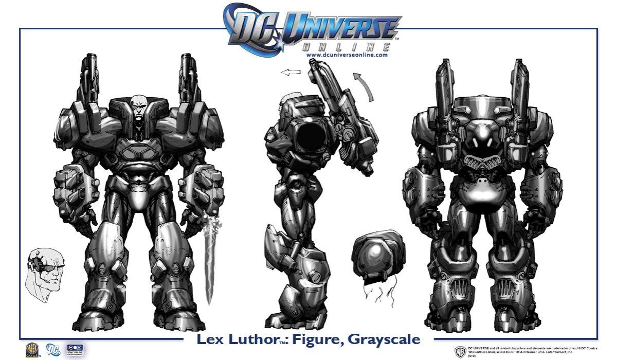 Galerie: Lex Luthor v DC Universe Online 18439