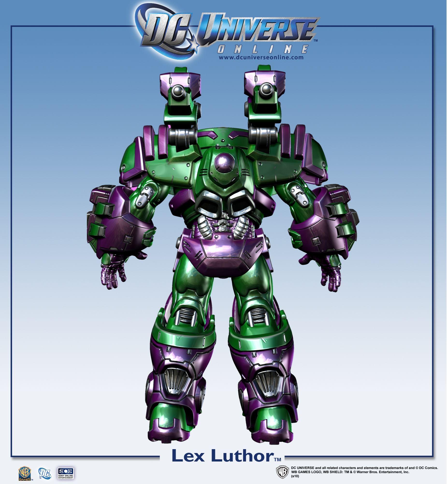 Galerie: Lex Luthor v DC Universe Online 18442