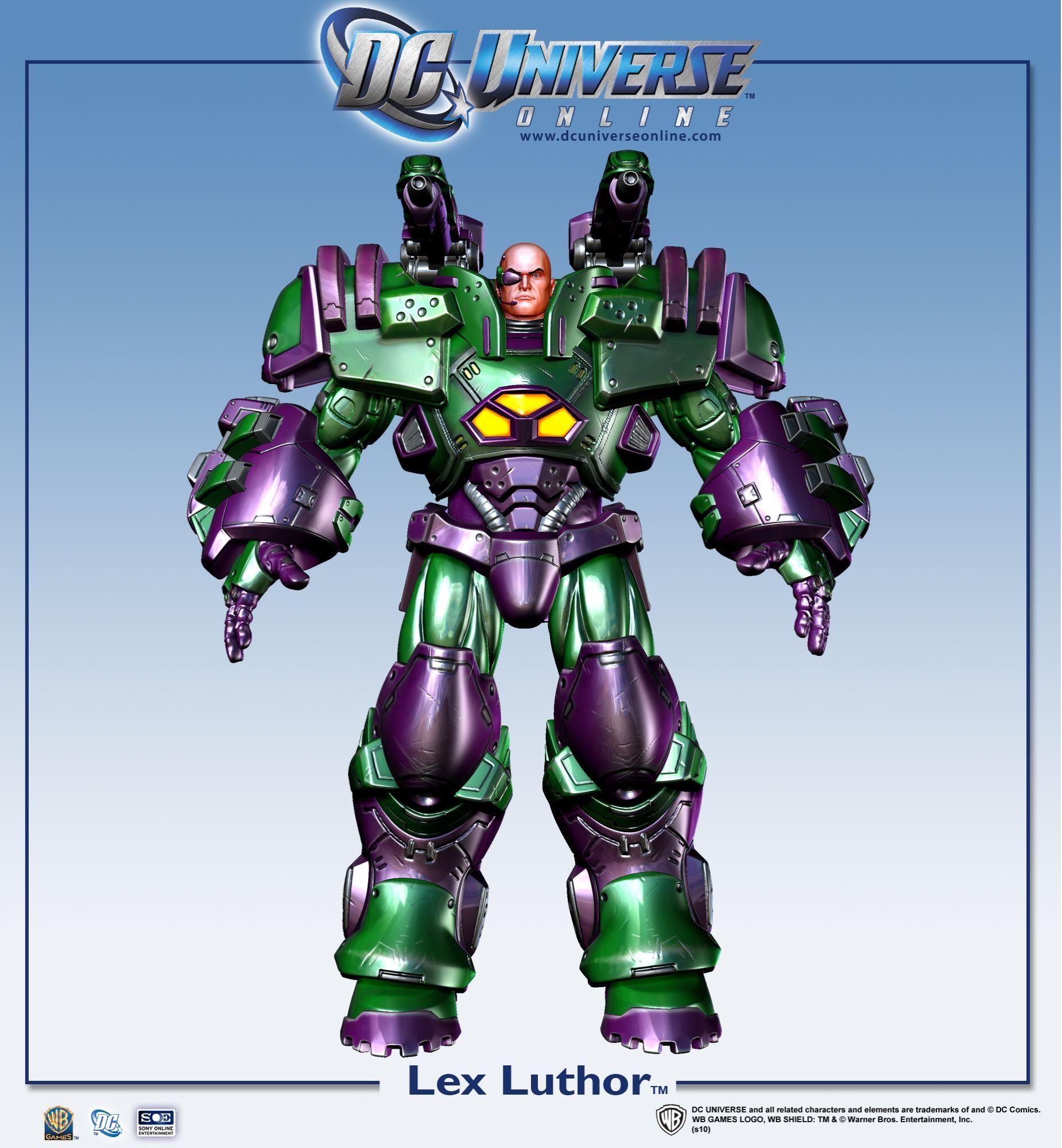 Galerie: Lex Luthor v DC Universe Online 18443
