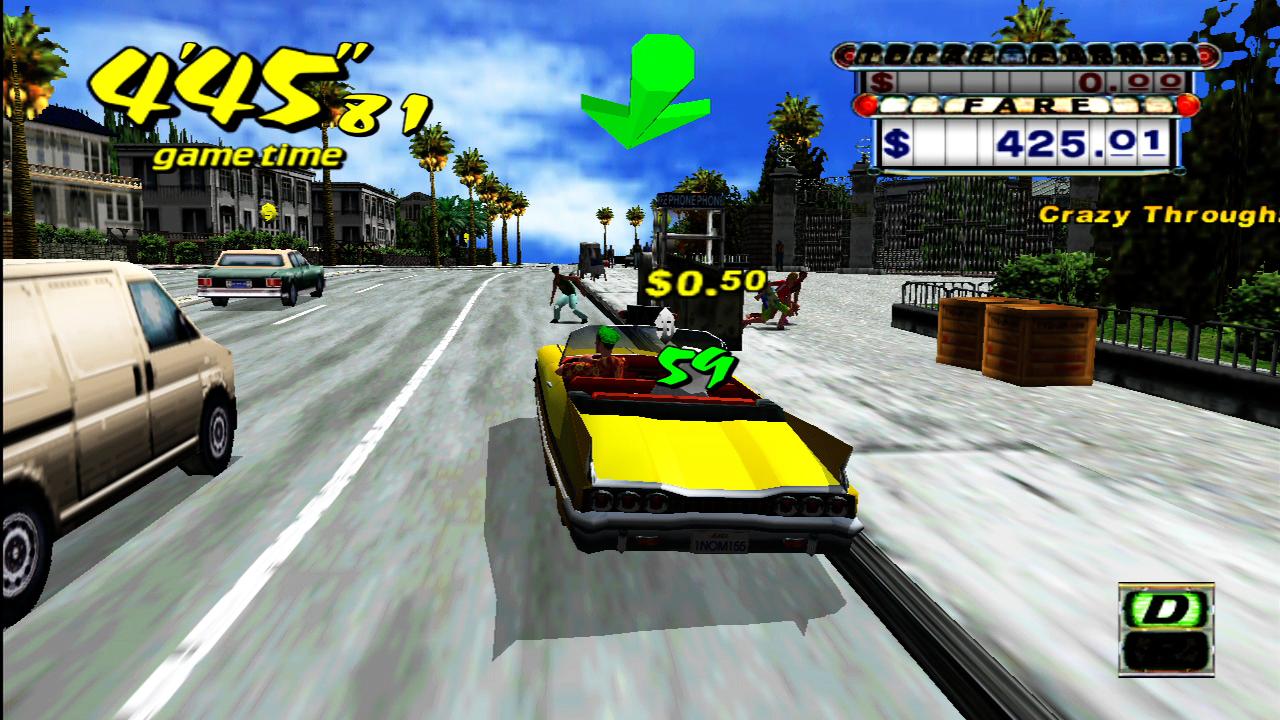 Crazy Taxi se objeví na XBLA a PSN už v prosinci 20326