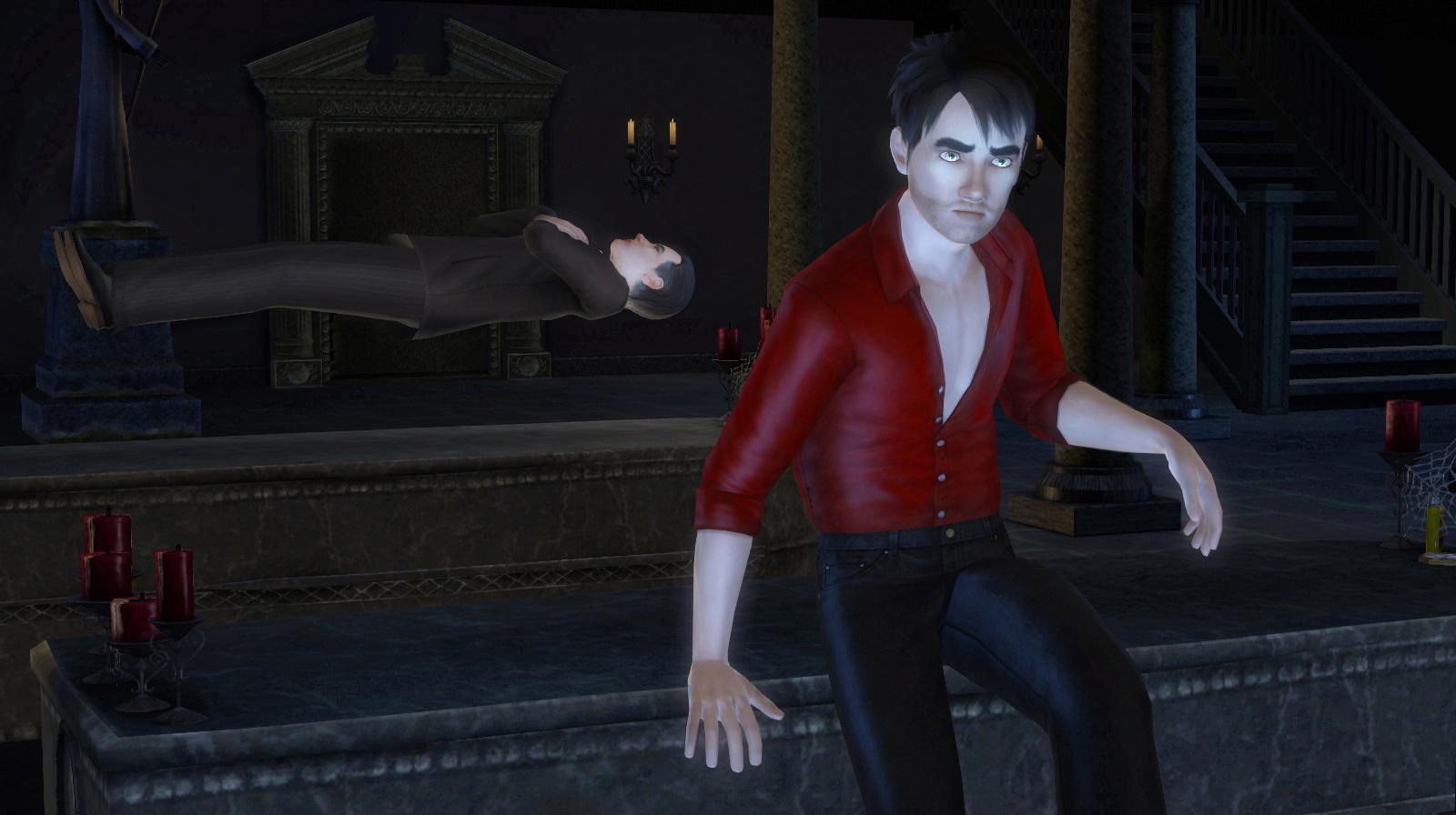 Galerie upírů z nočního The Sims 3 20639