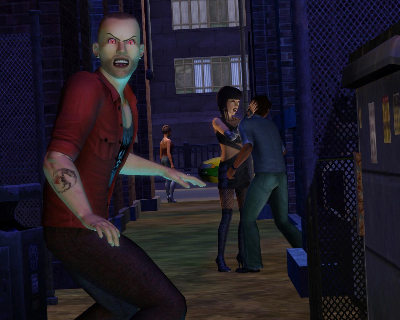 Galerie upírů z nočního The Sims 3 20642