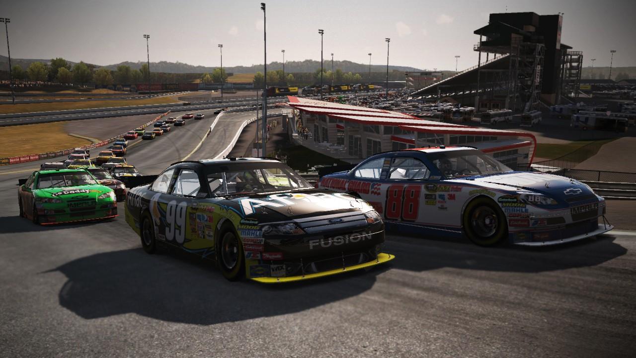 Šest nových obrázků z NASCAR The Game 2011 23029