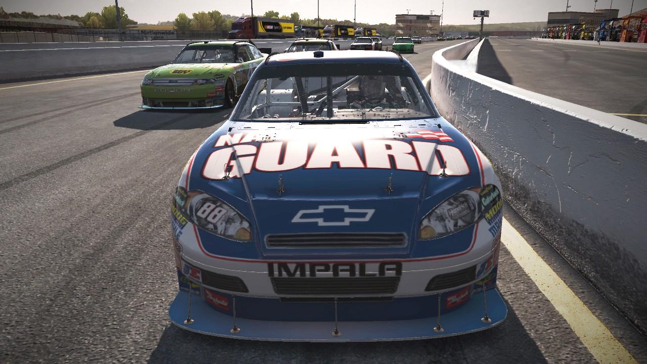 Šest nových obrázků z NASCAR The Game 2011 23030