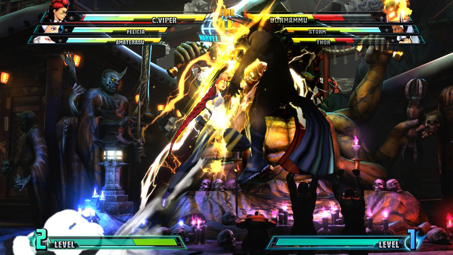 C. Viper a Storm v bojovce Marvel vs. Capcom 3 26841