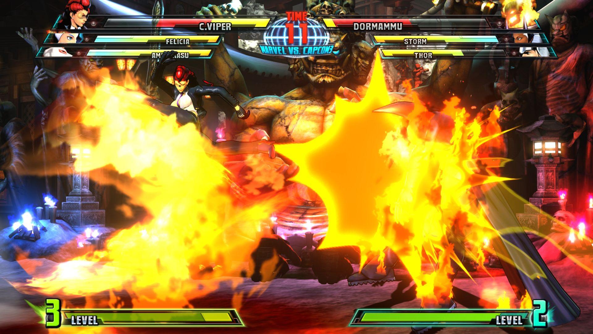 C. Viper a Storm v bojovce Marvel vs. Capcom 3 26842