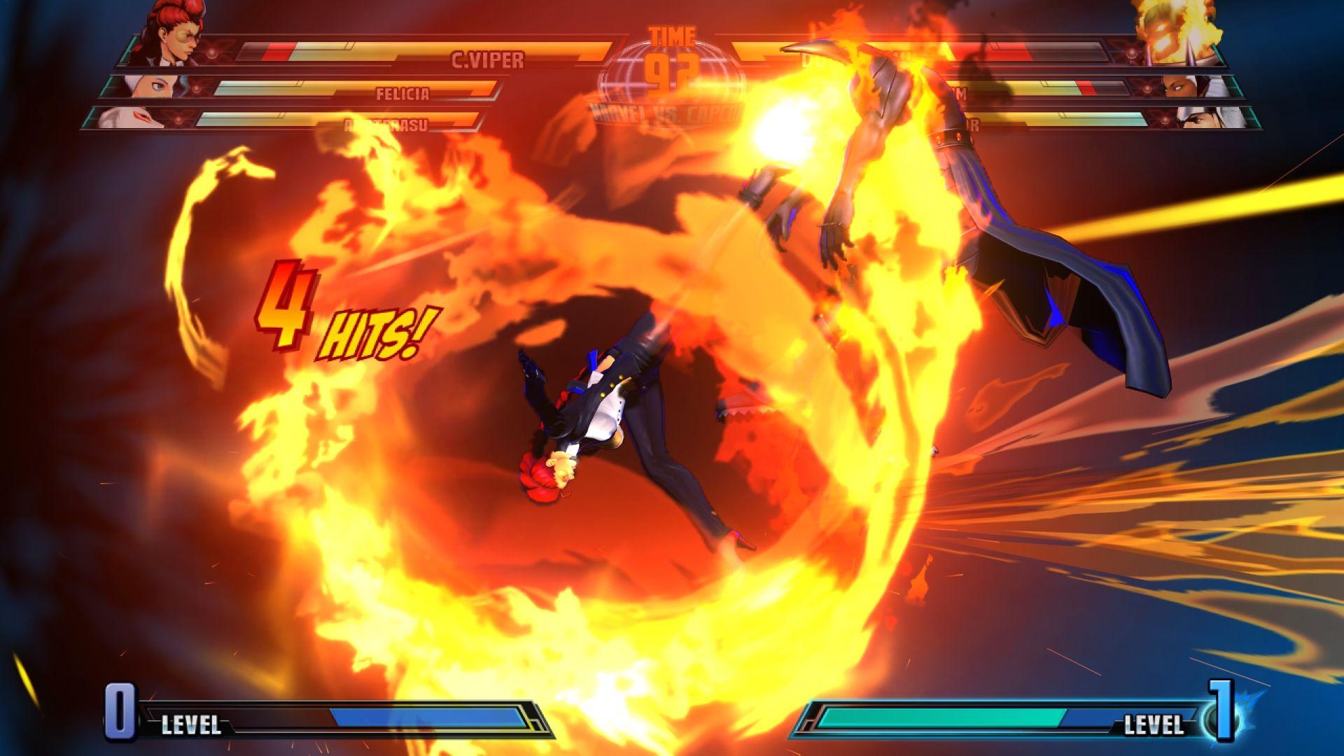 C. Viper a Storm v bojovce Marvel vs. Capcom 3 26843