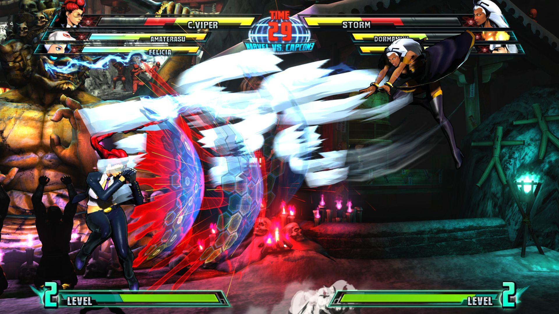 C. Viper a Storm v bojovce Marvel vs. Capcom 3 26846