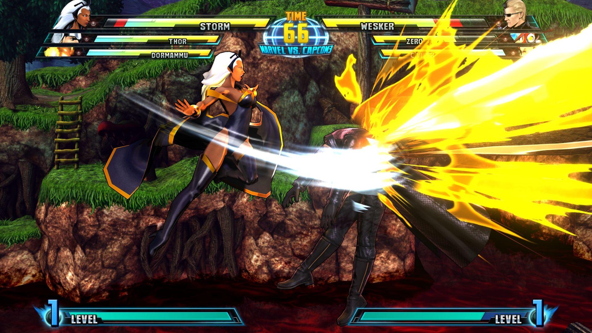 C. Viper a Storm v bojovce Marvel vs. Capcom 3 26848