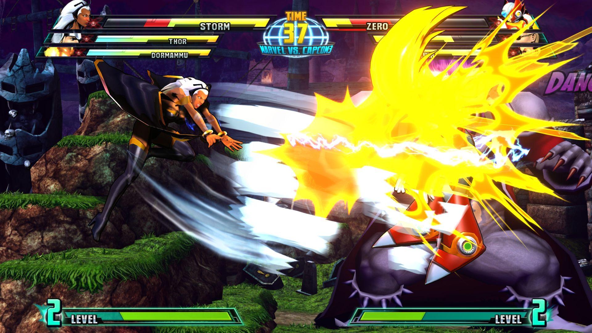 C. Viper a Storm v bojovce Marvel vs. Capcom 3 26849