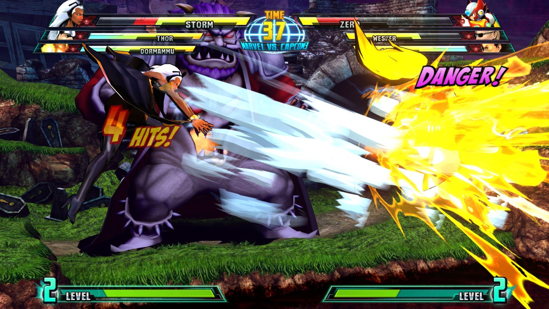 C. Viper a Storm v bojovce Marvel vs. Capcom 3 26850
