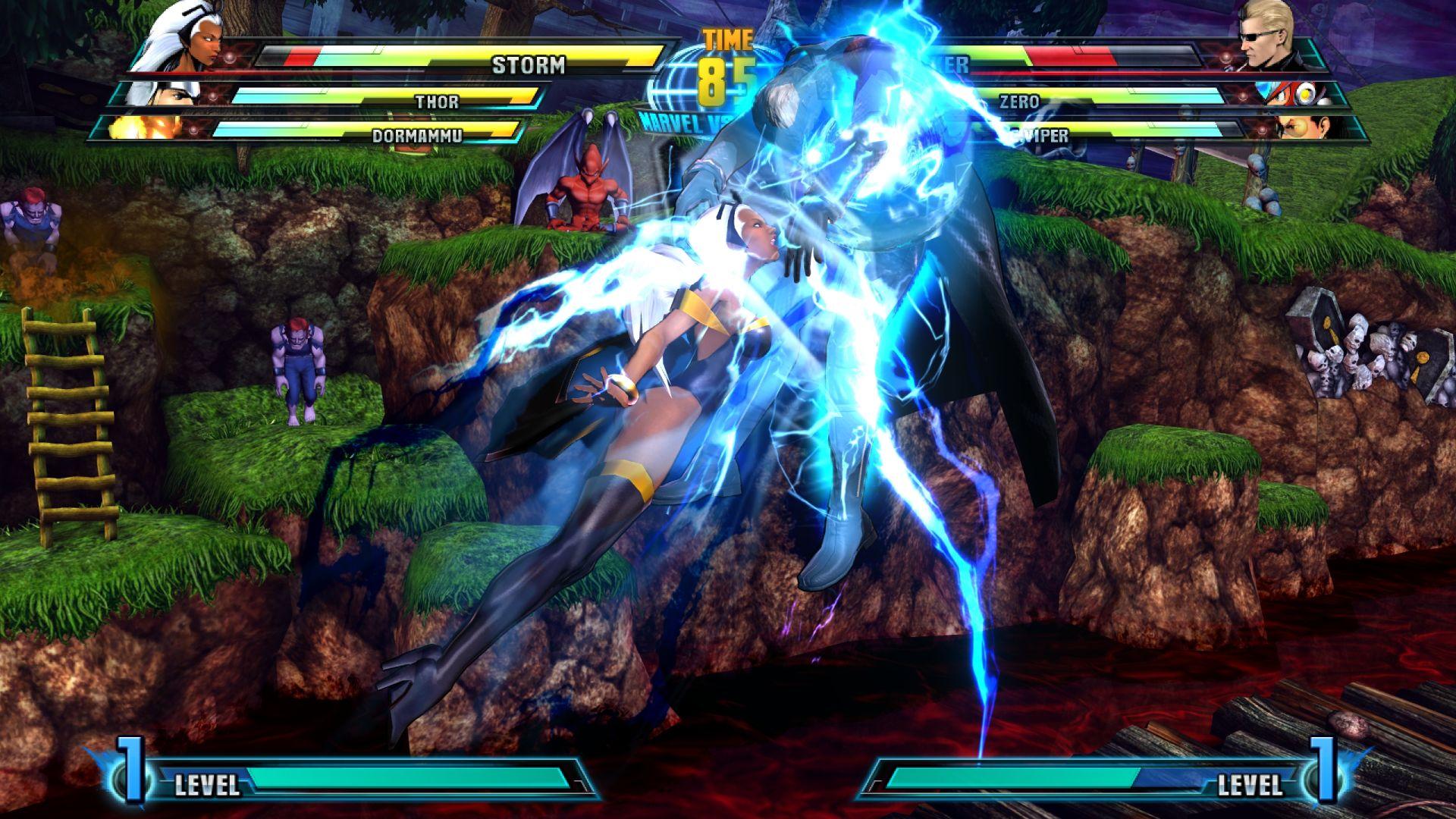 C. Viper a Storm v bojovce Marvel vs. Capcom 3 26851