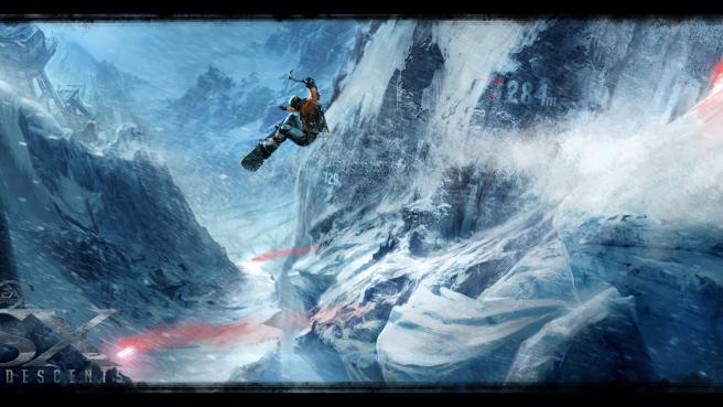 Nebezpečná místa a laviny v SSX: Deadly Descent 31184