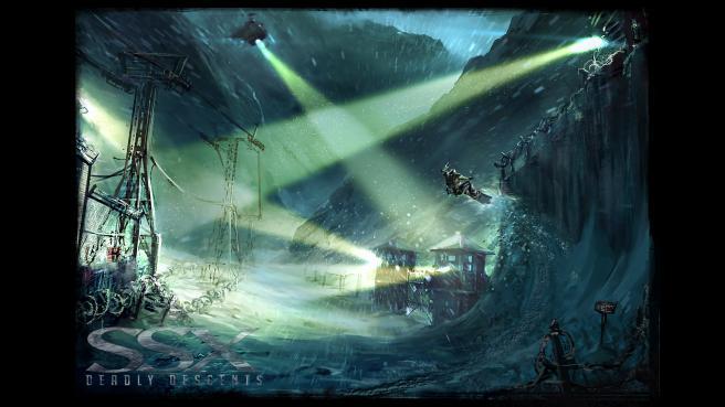 Nebezpečná místa a laviny v SSX: Deadly Descent 31186