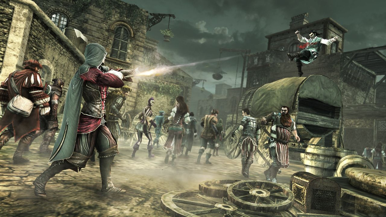 Launch párty Assassin's Creed: Brotherhood 31618