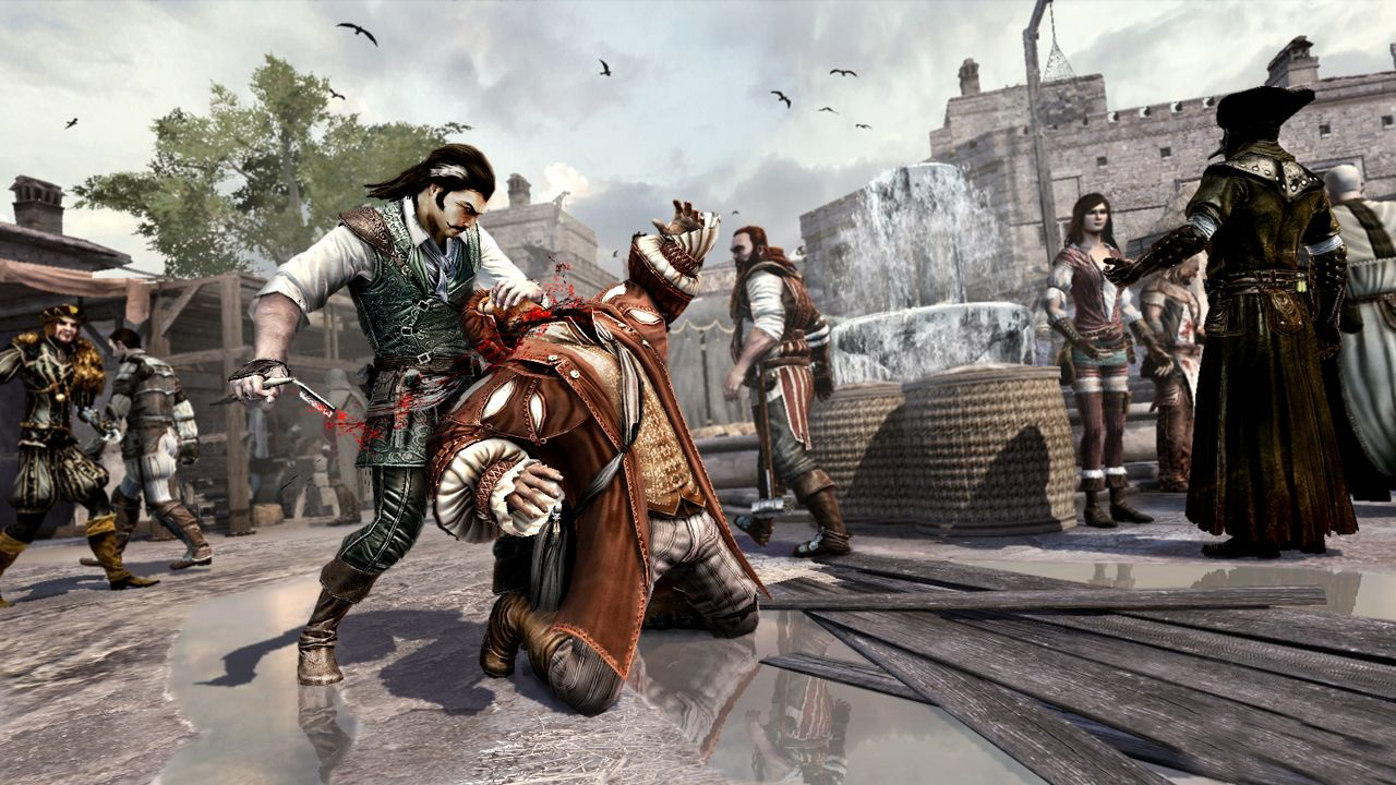Launch párty Assassin's Creed: Brotherhood 31619