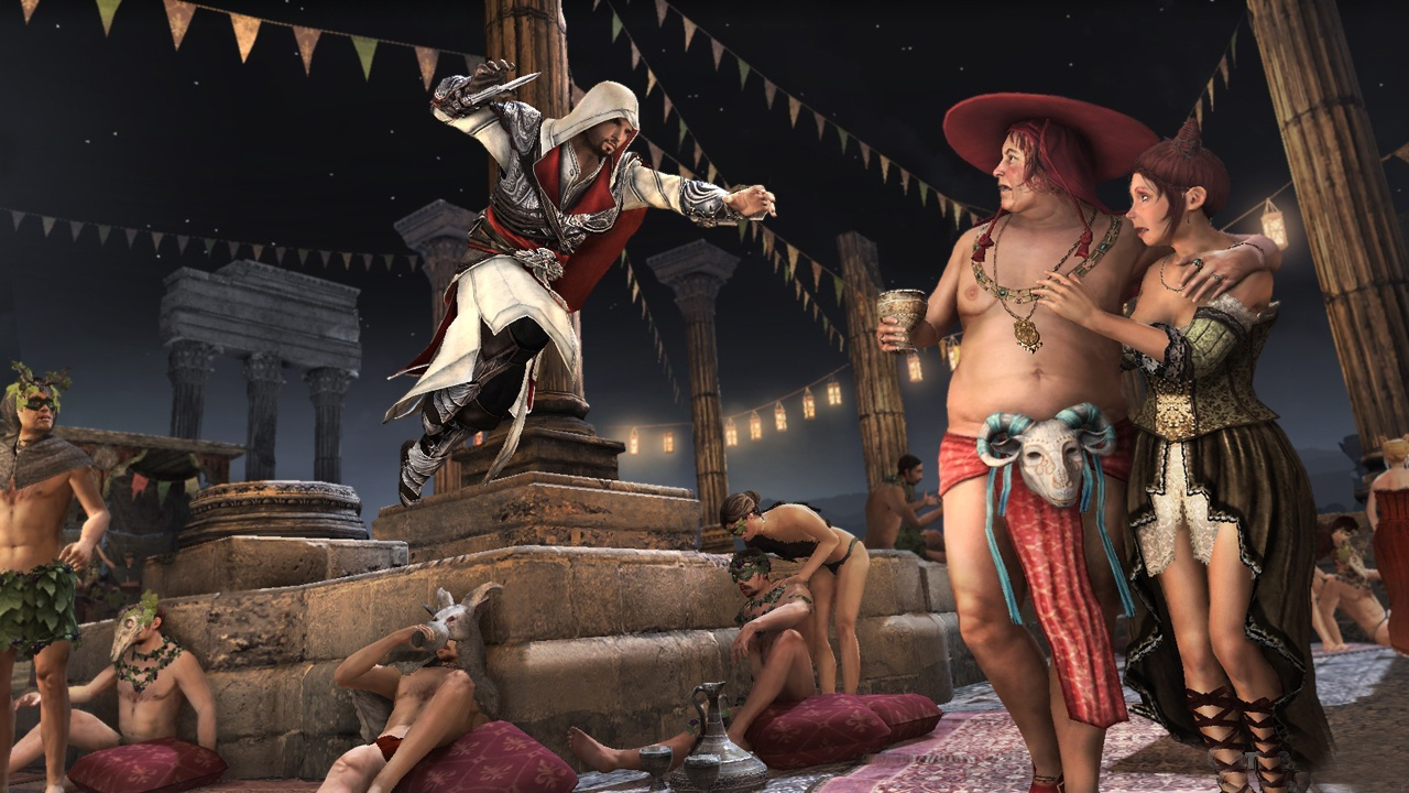Launch párty Assassin's Creed: Brotherhood 31625
