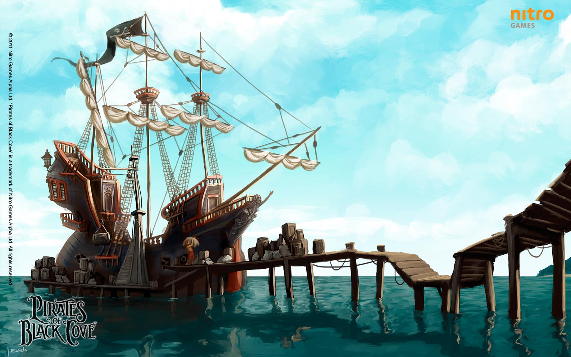 Pirates of Black Cove - pirátská strategická RPG hra 31638