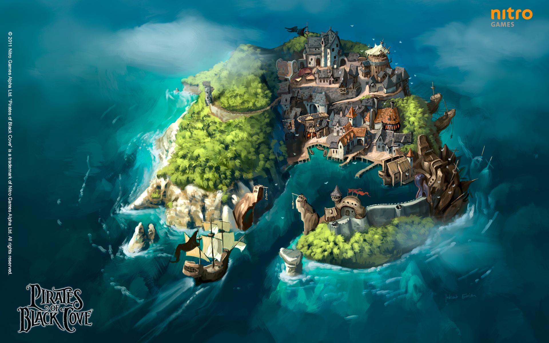 Pirates of Black Cove - pirátská strategická RPG hra 31641