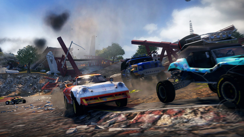 Osmnáct obrázků z destruktivního MotorStorm: Apocalypse 32321