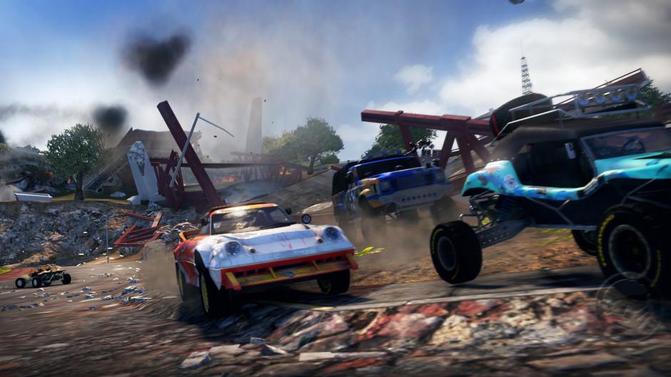 Osmnáct obrázků z destruktivního MotorStorm: Apocalypse 32326