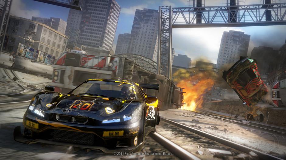 Osmnáct obrázků z destruktivního MotorStorm: Apocalypse 32331