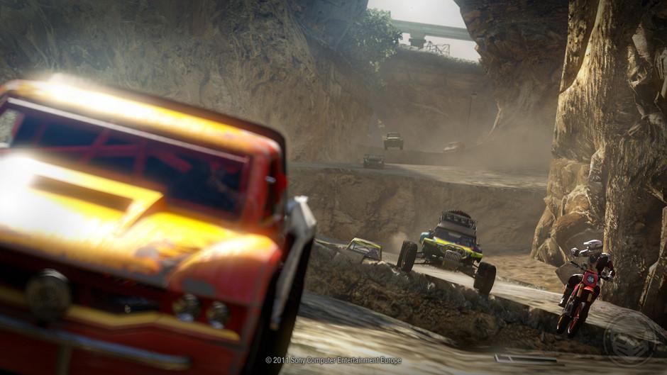 Osmnáct obrázků z destruktivního MotorStorm: Apocalypse 32334